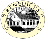 Benedict's Eggs and More, Benedict's La Strata Logo
